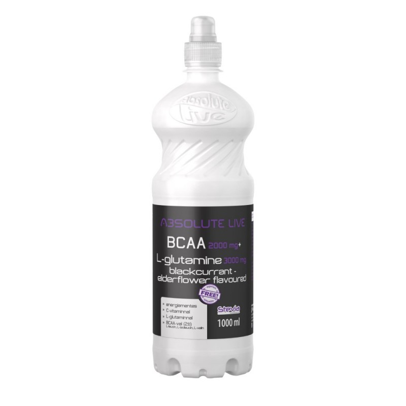 BCAA+L-GLUTAMINE BLACKCURRANT - ELDERFLOWER FLAVOU...