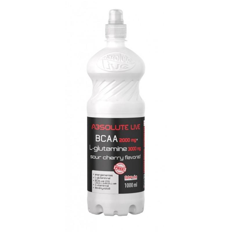 BCAA + GLUTAMINE CHERRY 1L