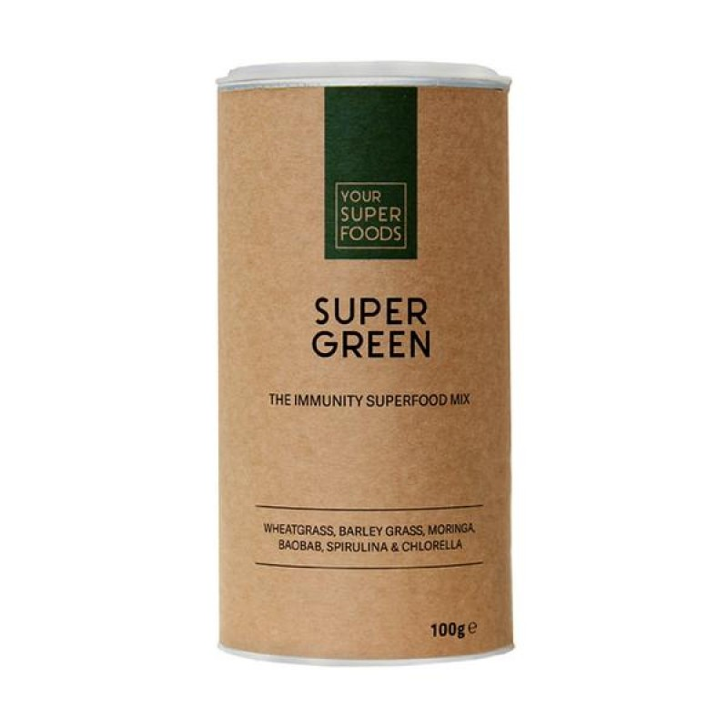 ORGANIC SUPER GREEN MIX 150G
